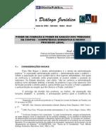 Poder de coerção e poder de sanção dos tribunais de contas - competência normativa e devido processo legal - Luciano Ferraz