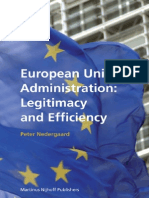 Brill European Union Administration Legitimacy and Efficiency