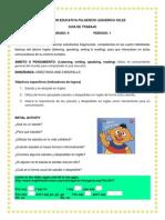 Guia de trabajo inglés n°1- 9°