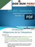 DS 055 - Ventilación