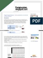 Txapuzas Blogspot Com Es 2010 07 Papertecladoanalogico Vario