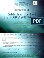 Land Use Planning / BSARCH 5-2D / 0910
