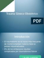Trauma Gineco-Obstétrico