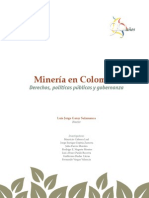 Mineria en Colombia vol 1
