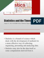 Statistics Times (Newer)