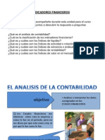 INDICADORES FINANCIEROS ACTUALES