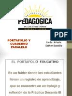 Portafolio y Cuaderno Paralelo