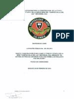 Pliego Definitivo Universidad Libre Escaneado Cali 20 de Febrero de 2013