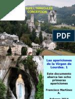 Apariciones de La Virgen de Lourdes 1