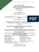 14-5003 Appellant's Opening Brief