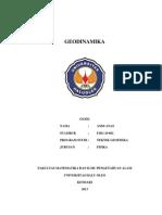 Tugas 1 Geodinamika Andi Anas (F1B1 10 062)