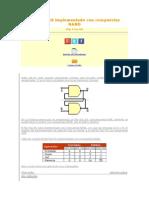 Flip Flop RS Implementado Con Compuertas NAND