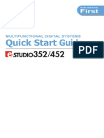 E-Studio 352-452 Quick Start Guide
