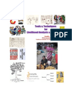 Tools & Techniques for Analyzing Livelihoods & Making Intervention