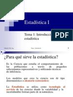 Introduction to Statistics I