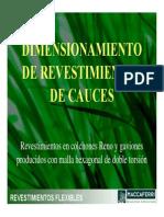 08 DIMENSIONAMIENTO REVESTIMIENTOS