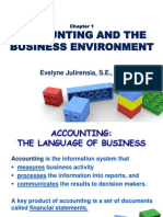1. Accounting and the Business Environment