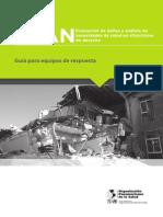 EDAN en Salud en Situaciones de Desastres