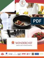 Sanjeev kapoor,s Wonderchef cookware brochure