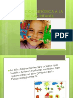INTRODUCCION HISTÓRICA A LA PSICOPATOLOGÍA INFANTIL