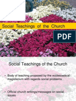 Social Teachings of the Church