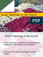 Social Teachings of the Church