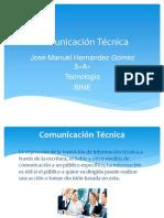 Trabajo 4 Comunicación Técnica
