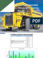 Reporte Operacional Marzo 2011