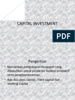 1. Capital Investment