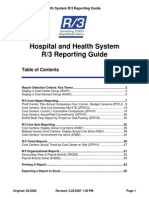 Hosp Health Sys Rep Guide