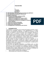 POLÍTICAS DE INVESTIGACIÓN IPNM