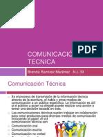 COMUNICACIÓN TECNICA