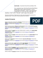 Sandy Hook Deaths Social Security Master File Copy