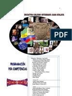 PROGRAMACION SOCIALES 2009