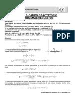 2º PROBLEMAS RESUELTOS T 7  CAMPO GRAVITATORIO