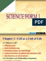 Bab 2 Sel Sebagai Unit Asas Hidupan