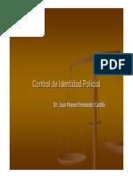 170 - Control de Identidad Policial
