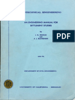 Engineering Manual for Settlement Studies by J.M. Duncan and A.L. Buchignani