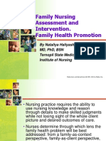 Lect.3 - Family Nursing Assessment and Intervention