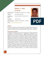 Curriculum Vita Ingeniero Darío Segovia