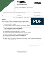 Formatos de inscripción para Elecciones Internas Complementarias 2013-2015