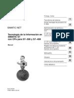 Tecnologia de La Informacion en SIMATIC S7 Con CPs S7