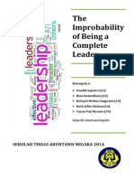 Chapter 5 - The Improbability of Being a Complete Leader
