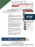 22-02-2014 'En trienio de Pepe Elías se crearán 30 mil empleos en Reynosa'.