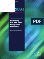 Evaluating ETL and Data Integration Plataforms 2003ETLReport