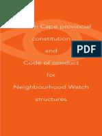 Neighbourhood Watch Constitution