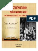 Unidad 8 Protestantismo en el XIX y nuevas corrientes - Lucas Peláez Rivera