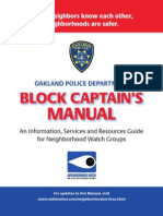 Block Captains Manual