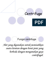 Centrifuge Dv