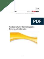 Redbooks Wiki Optimizing Lotus Domino Administration